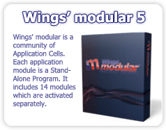 Wings' modular 5 Professional Embroidery software